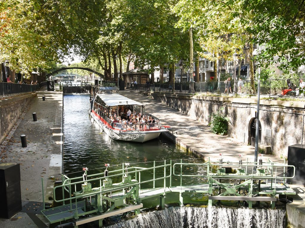 Paris Canal / Cruises on the Canal St-Martin